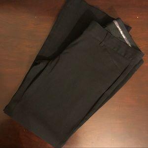 Express Editor Black slacks size 8S